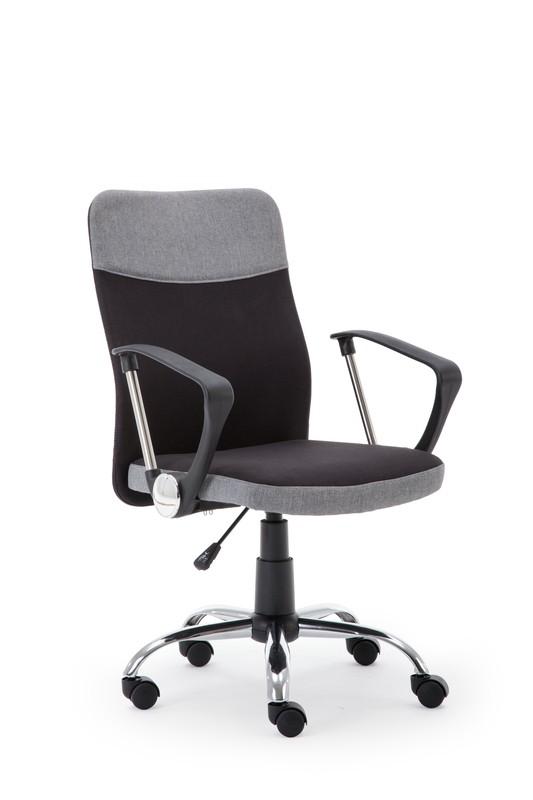 TOPIC kancelárske kreslo čierno - šedé