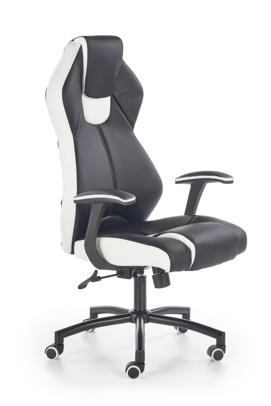 TORANA kancelárske kreslo čierno-biele