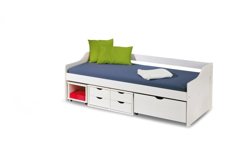 FLORO 2 posteľ biela