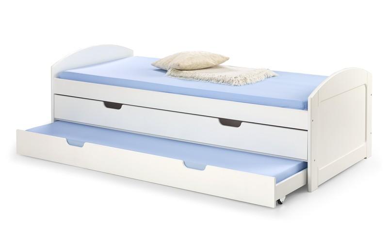 LAGUNA 2 posteľ biela