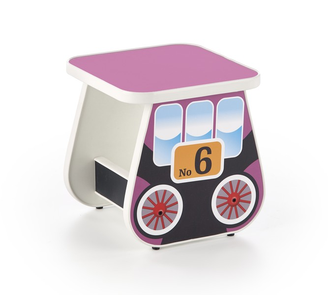 Lokomo stolička fialová