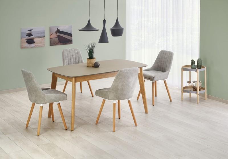 ONTARIO stôl sivý