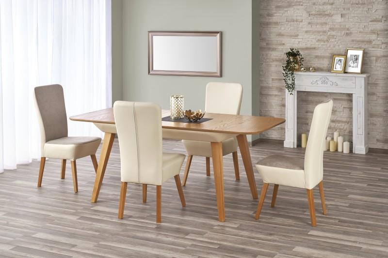 ORCHID stôl rozkladací dub ťavie / béžový