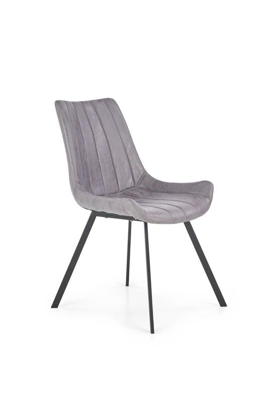 Halmar K279 stoličky sivá / čierna