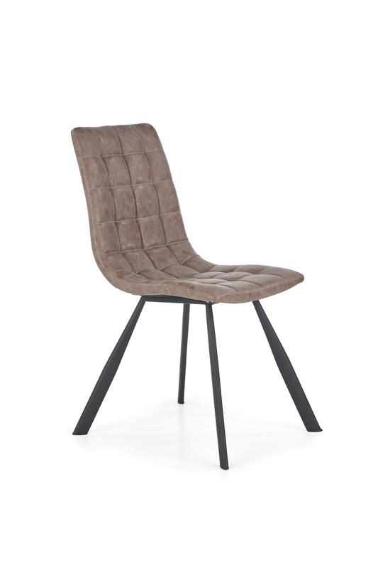 Halmar K280 stoličky hnedá / čierna