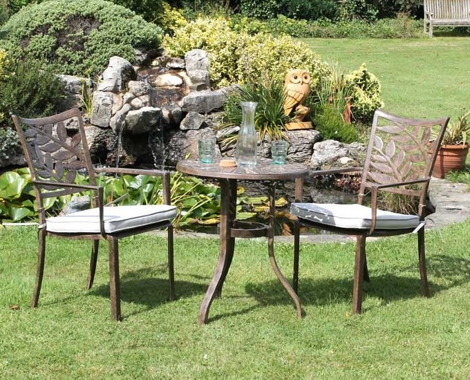Ogrodos Hliníkový stolík bistro Ontario