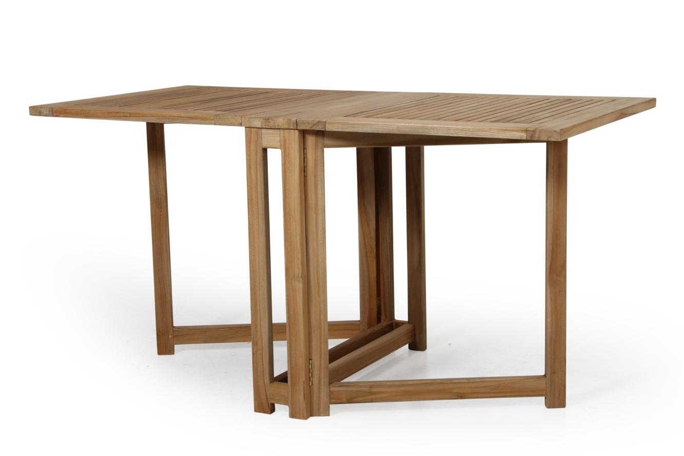 Ogrodos Rozkladací stôl dvojkrídlový Teak Dax