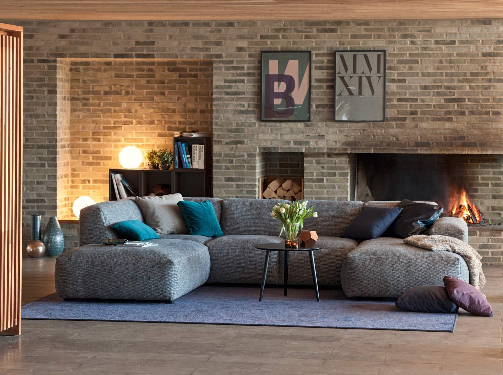 Lucera, čalúnená sofa