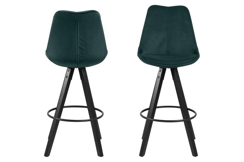 Stoličky barová Dima VICENTE zelený