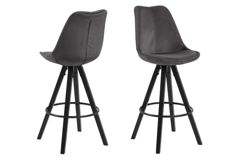 Stoličky barová Dima VICENTE sivý