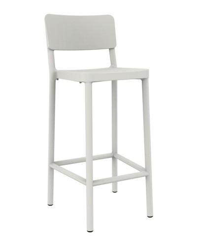 Stoličky barová Lisboa 75cm biely