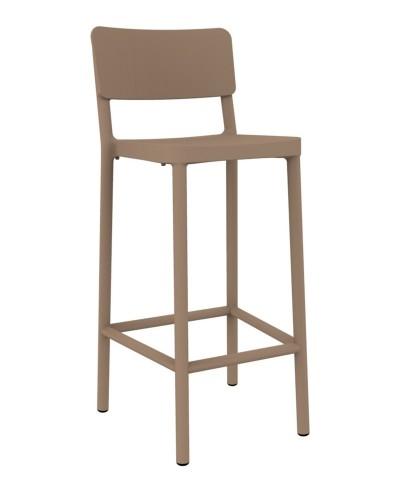 Stoličky barová Lisboa 75cm pieskový