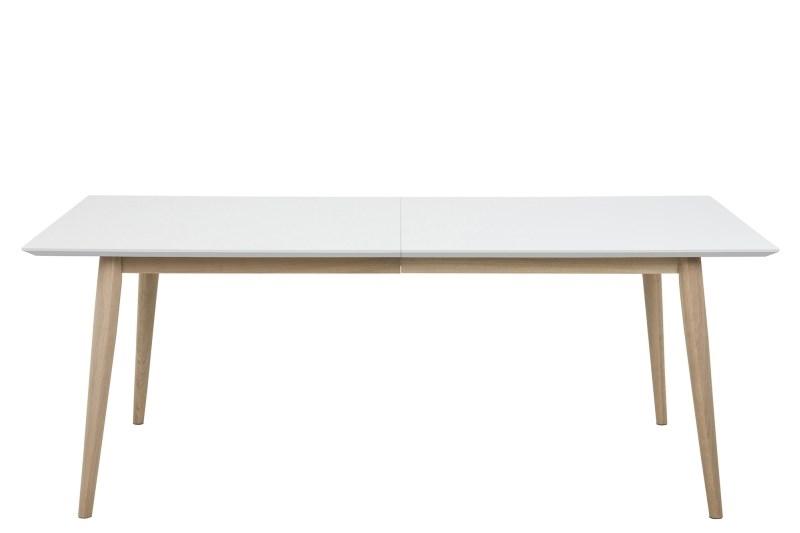 Stôl rozkladací Century biely / Wood