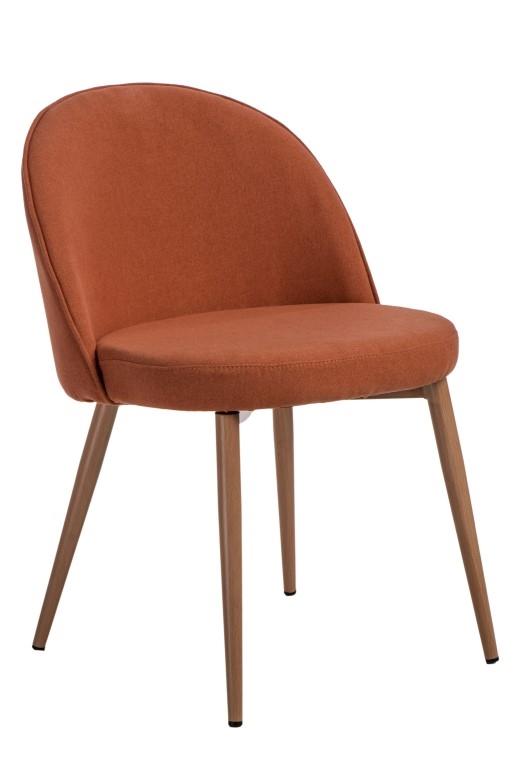 Stoličky Conecto oranžová