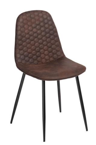 Stoličky Hiko hnedá