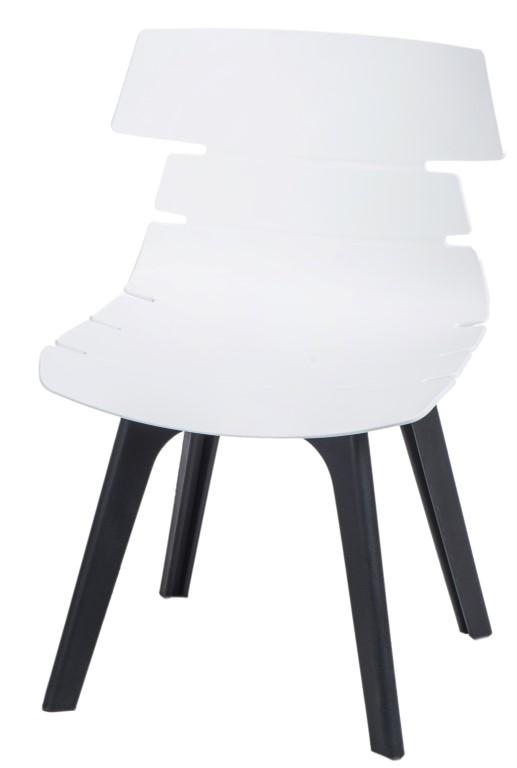 Stoličky Techno STD PP biela