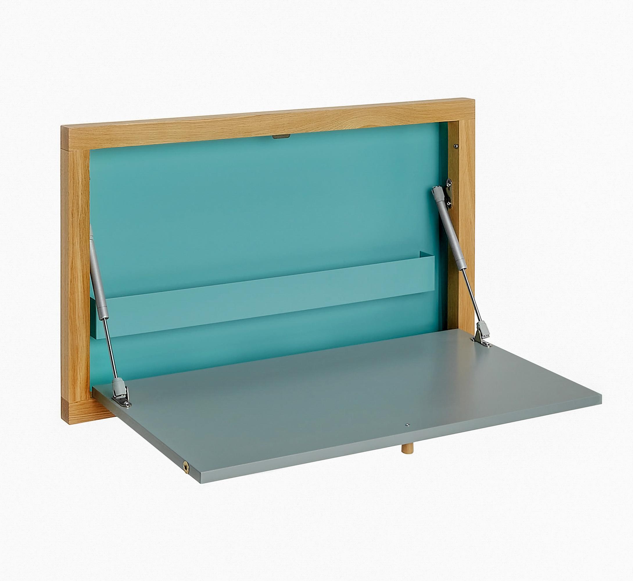 Písací stôl Brenta Wall farebný