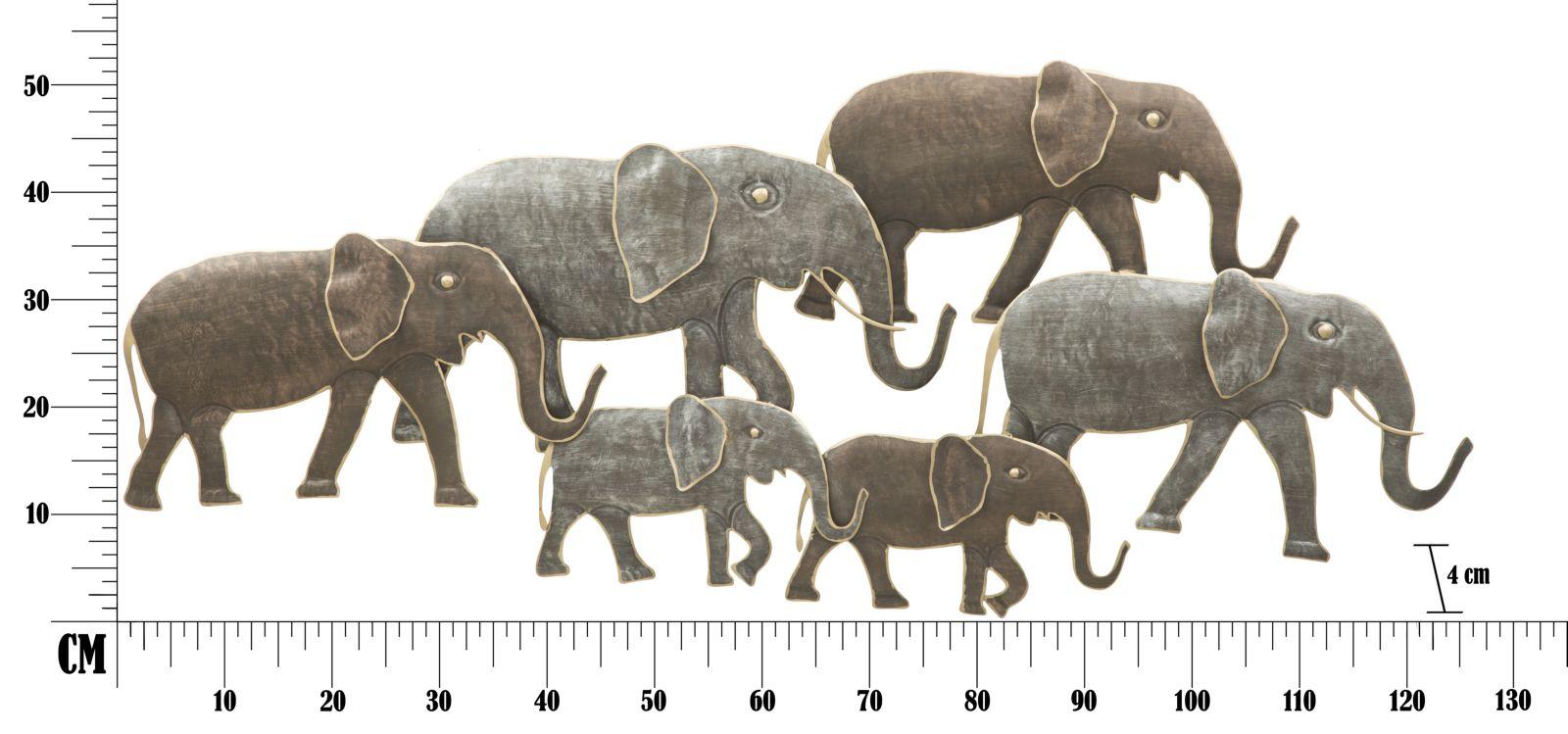 Dekorácia na stenu ELEPHANT