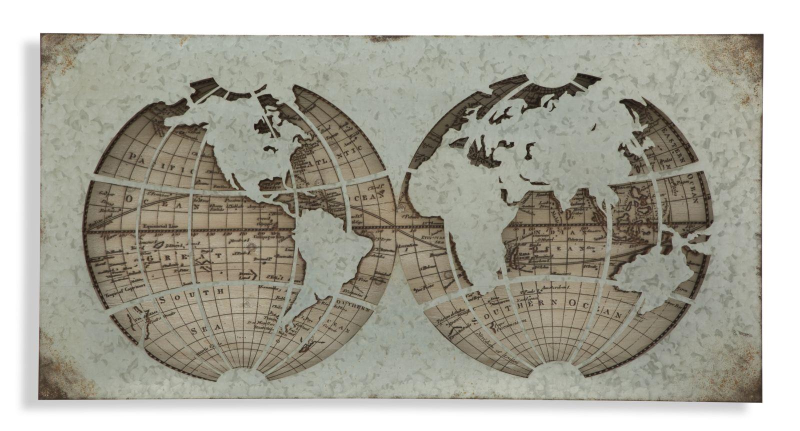 Dekorácia na stenu WORLD HOLE