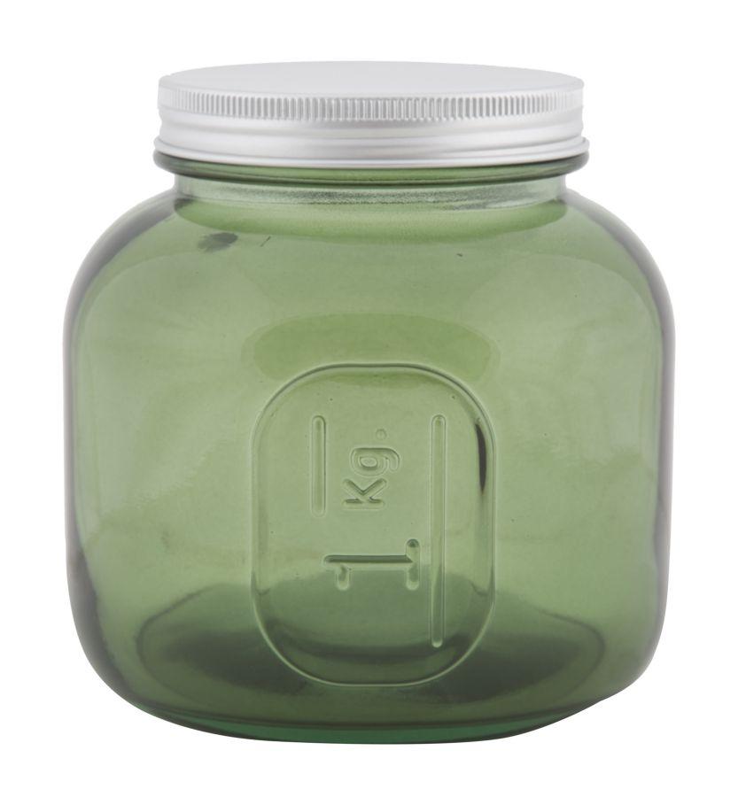 Nízka pohára s krytím z recyklovaného skla GREEN 13x13 zo Španielska