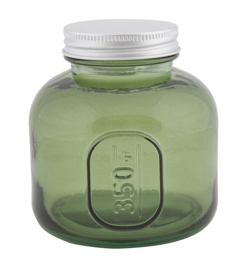 Nízka pohára s krytím z recyklovaného skla GREEN 9x10 zo Španielska