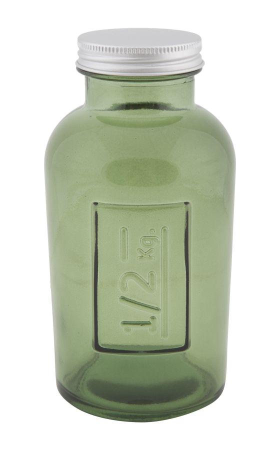 Vysoká pohára s krytím z recyklovaného skla GREEN 8,5X16,5 zo Španielska