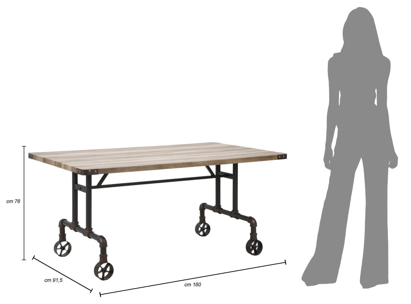 Jedálenský stôl MANHATTAN