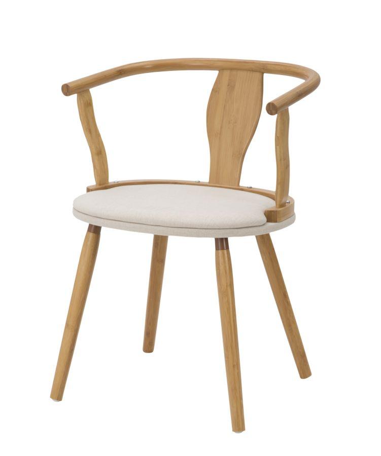 Stoličky BAMBOO JAPAN (bavlnená výplň)