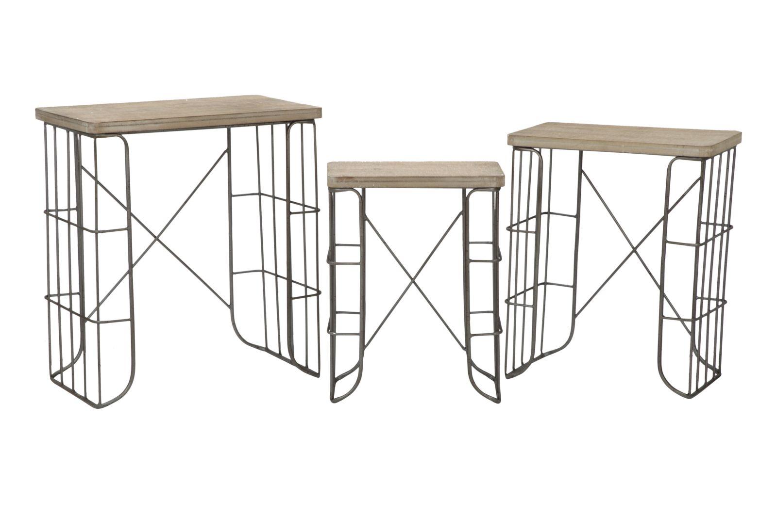 Konferenčné stolíky MEX - Set 3 ks