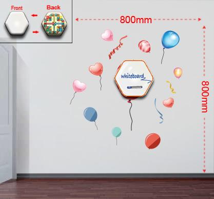 Samolepky na stenu baloons