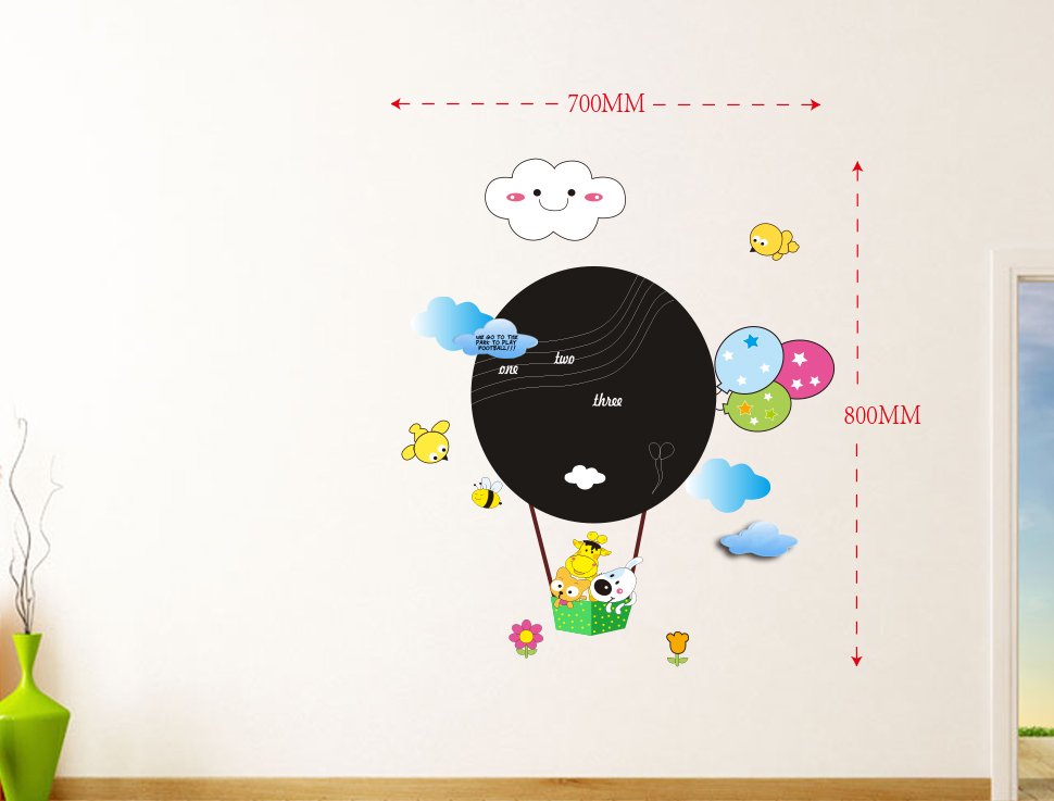 Samolepky na stenu Baloon