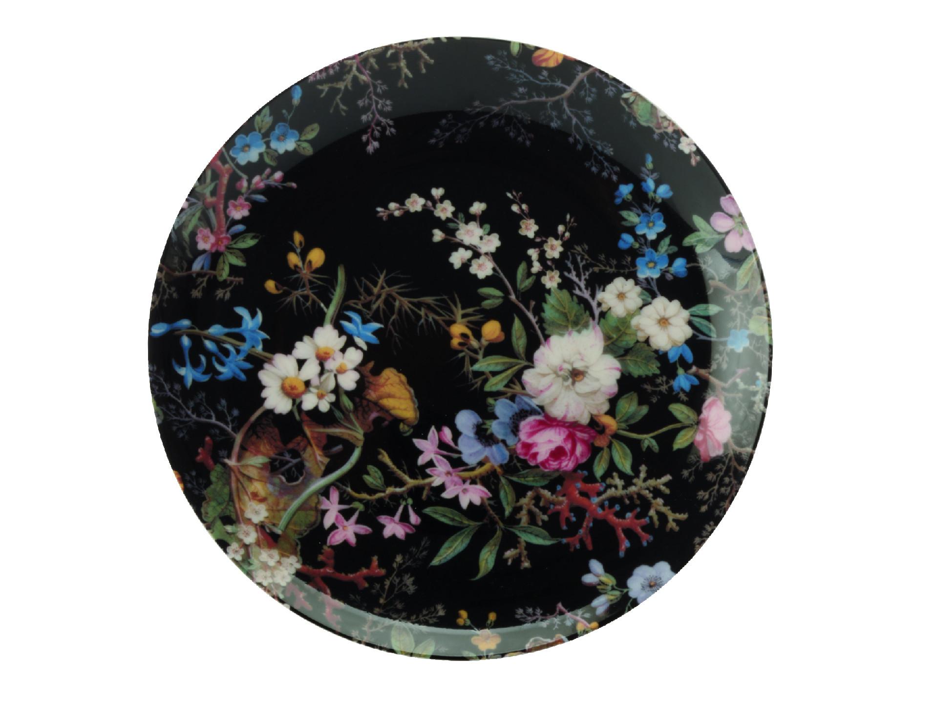 Kilburn Dezertný tanier 20 cm Midnight Blossom