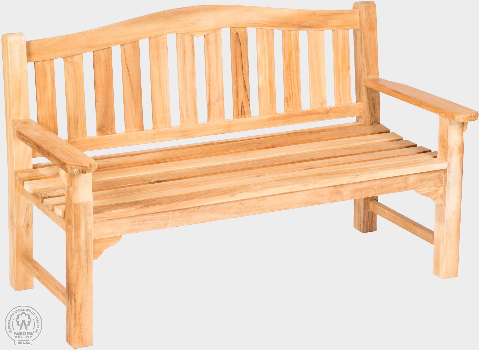 Teaková lavice z masívu. ALDA