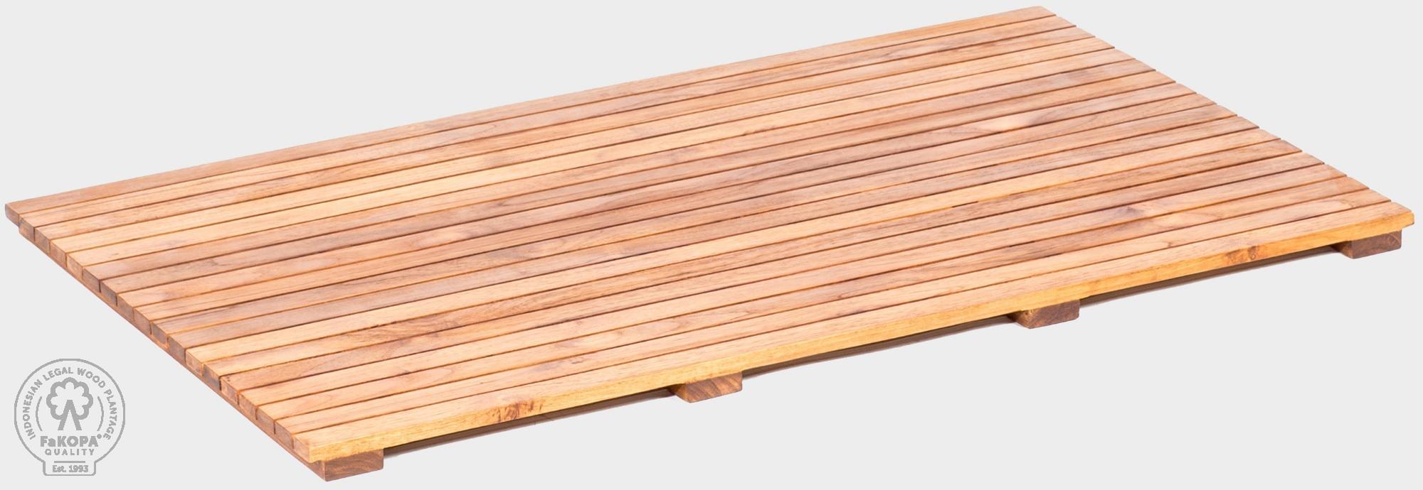 Teakový rošt 100 x 60 cm PIANO