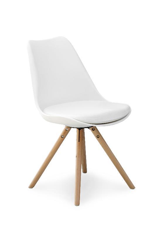 K201 stoličky biela