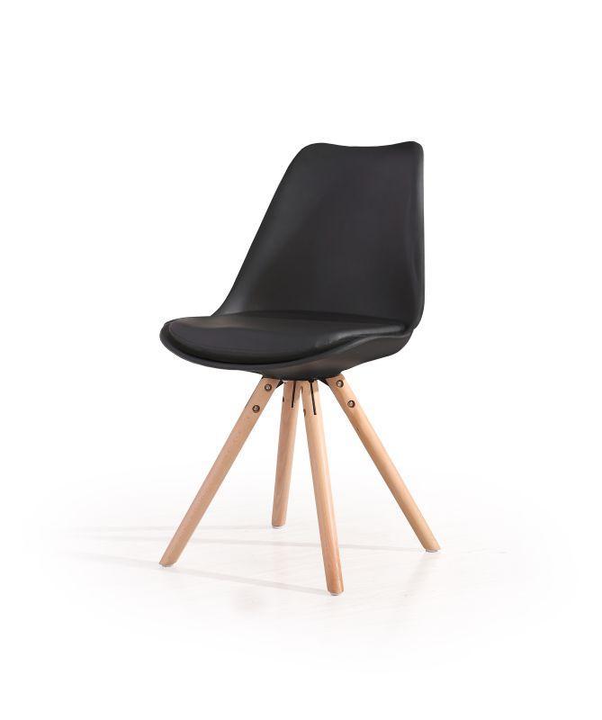 Halmar K201 stoličky čierna