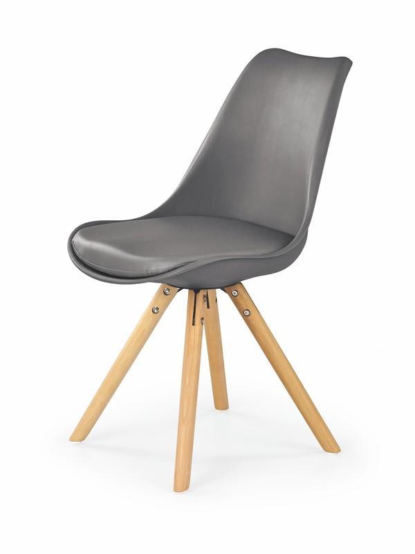 K201 stoličky šedá