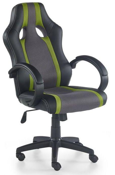 RADIX kreslo kancelárske šedo-zelené