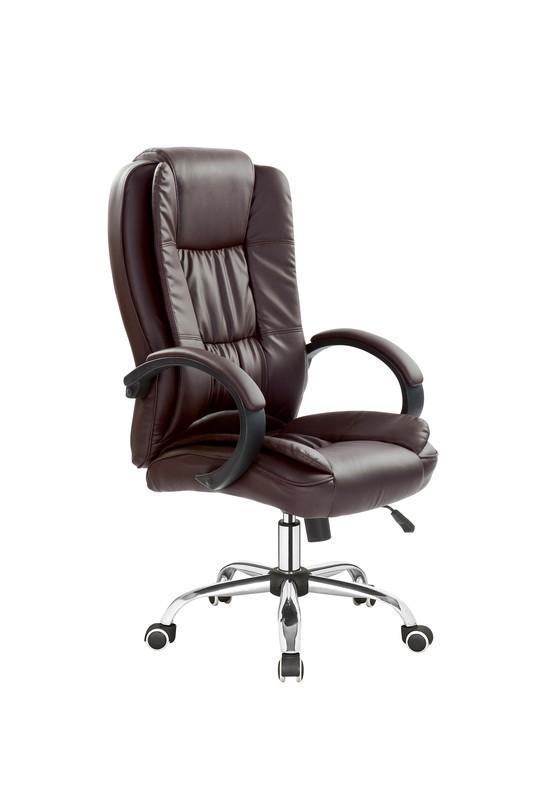 RELAX kreslo kancelárske tmavo hnedé