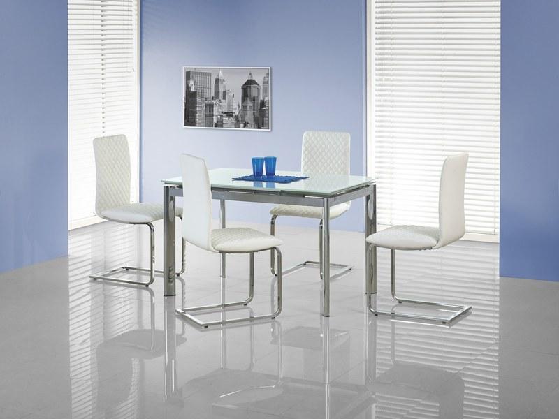 LAMBERT stôl rozkladací extra biely