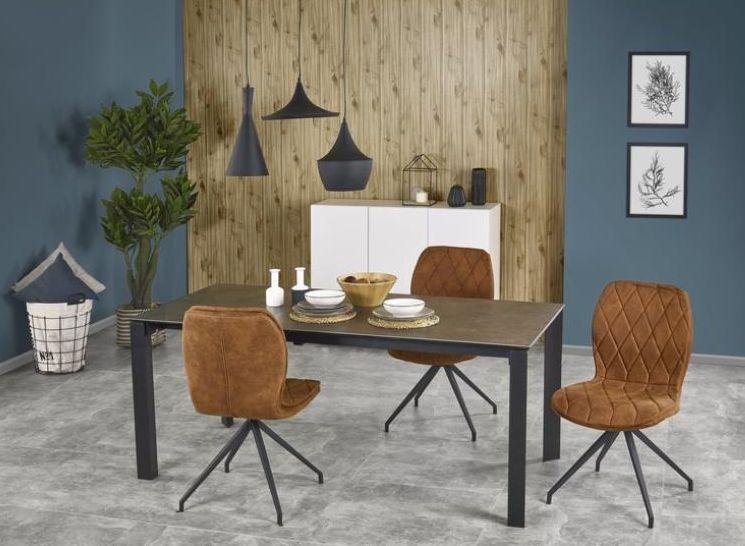 HORIZON stôl sivý