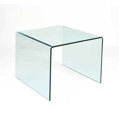 stolík sklenený PRIAM B SKLO TRANSPARENTNÉ