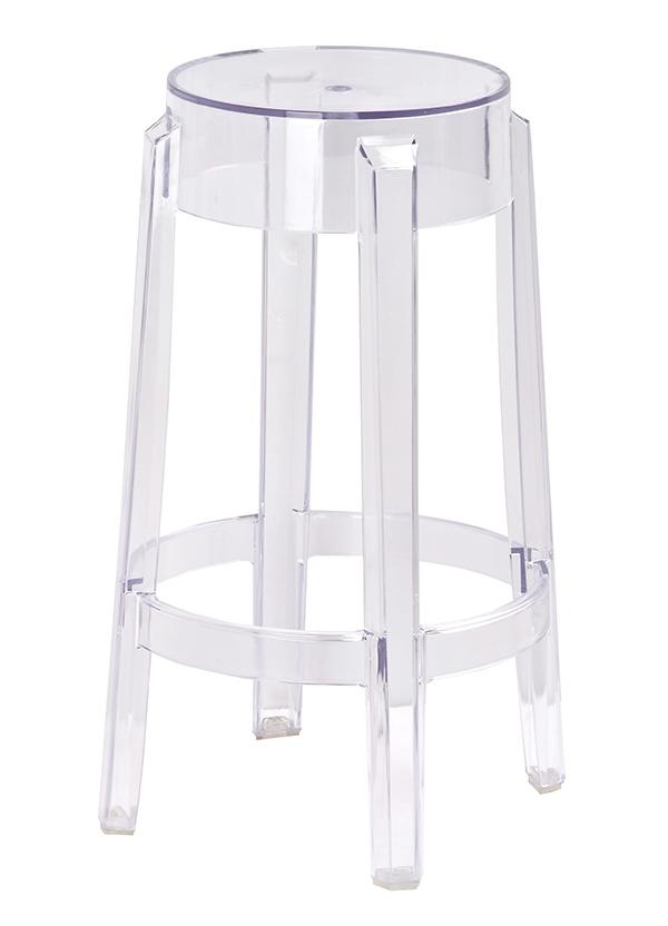 Barová stolička CHARLES 65 - polykarbonát