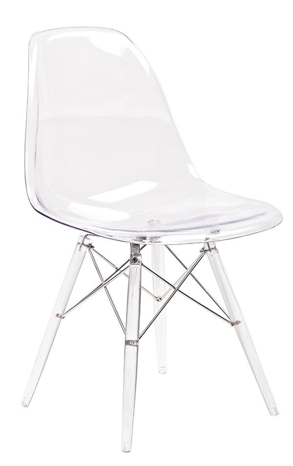 Stoličky DSP ICE - polykarbonát