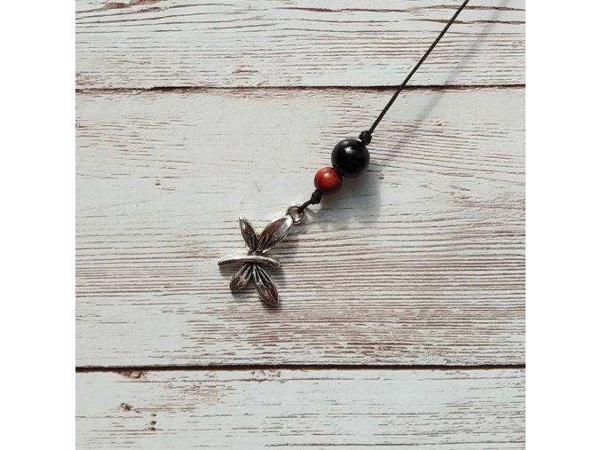 vážka černá