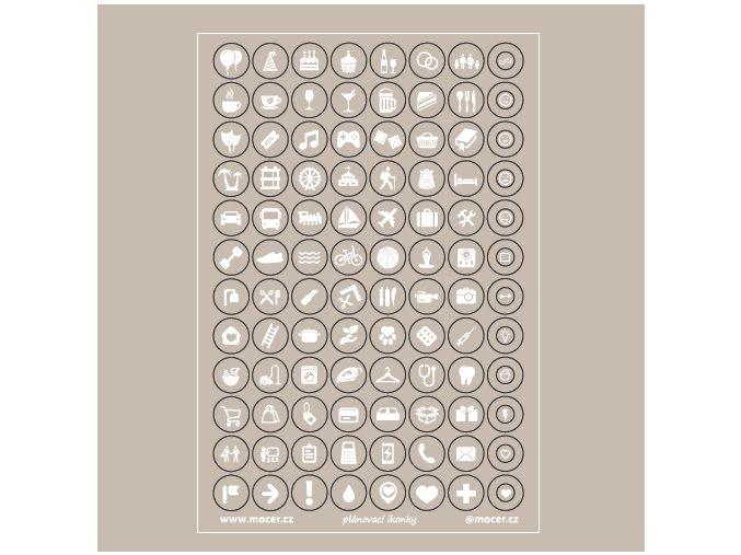 ikonky plánovací taupe