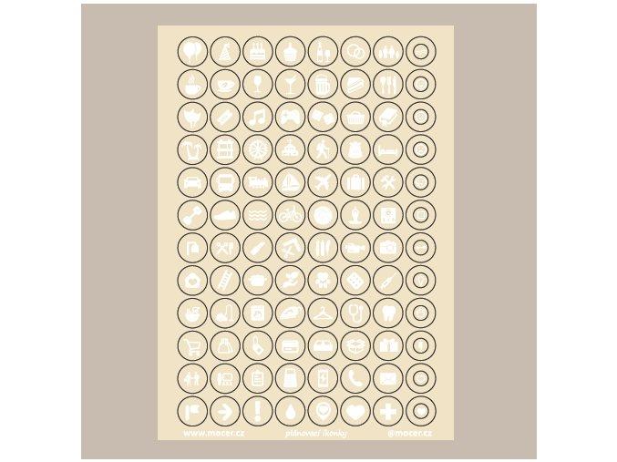 ikonky plánovací sv.béžové