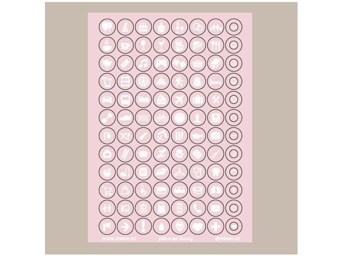 ikonky plánovací sv.růžové