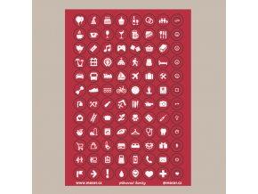 ikonky plánovací tm.červené