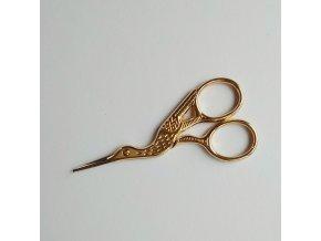 nůžky kolibřík zlaté